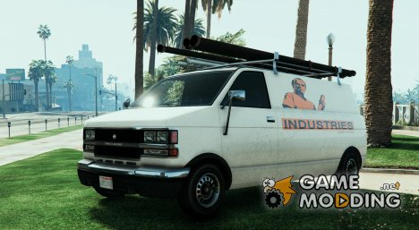 Trevor Phillips Industries Van for GTA 5