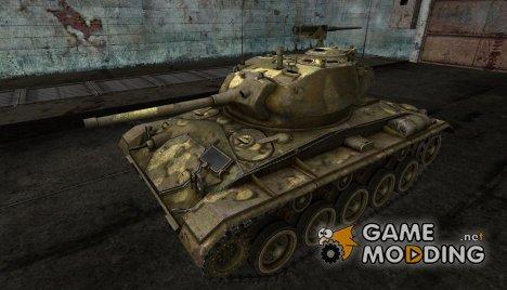 Шкурка для M24 Chaffee для World of Tanks