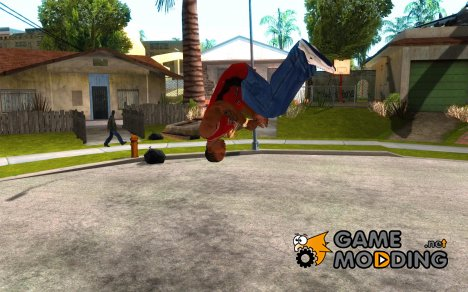 PARKoUR for GTA San Andreas