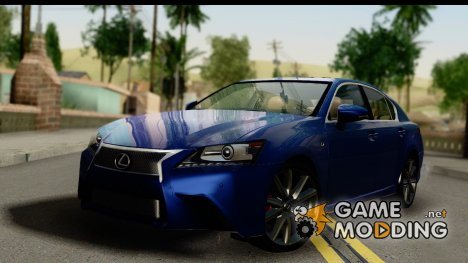 Lexus GS350 for GTA San Andreas