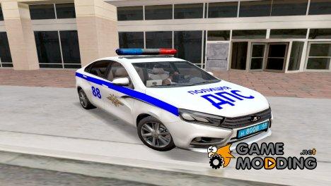 Lada Vesta ДПС v2.0 доработка for GTA San Andreas