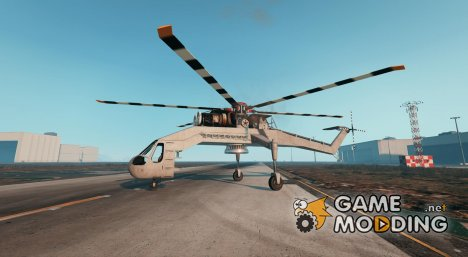 MI-8 Helicopter v0.01 for GTA 5