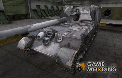 Камуфлированный скин для GW Tiger for World of Tanks