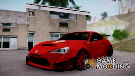 Toyota GT86 Fail Crew for GTA San Andreas