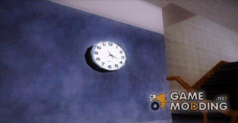 Рабочие настенные часы for GTA San Andreas