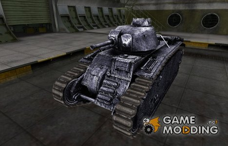 Темный скин для PzKpfw B2 740 (f) для World of Tanks