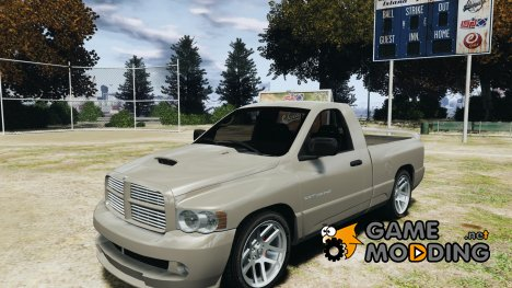 Dodge Ram SRT-10 2003 1.0 for GTA 4