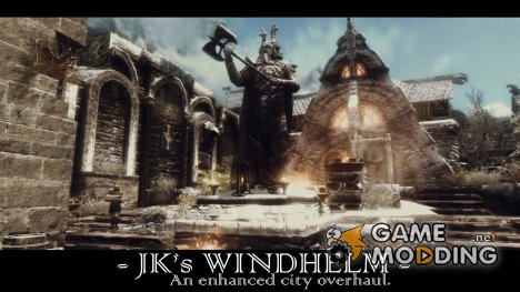 JK's Windhelm - Улучшенный Виндхельм от JK 1.2b для TES V Skyrim