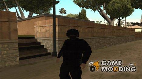 Сотрудник ФСБ Альфа v1 for GTA San Andreas