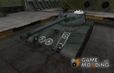 Зоны пробития контурные для Bat Chatillon 25 t для World of Tanks