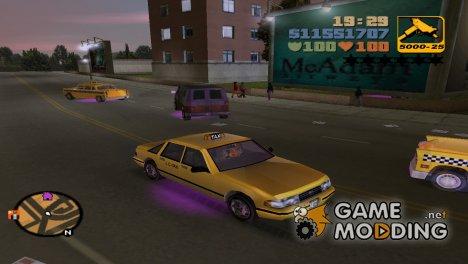 Neon mod for GTA 3