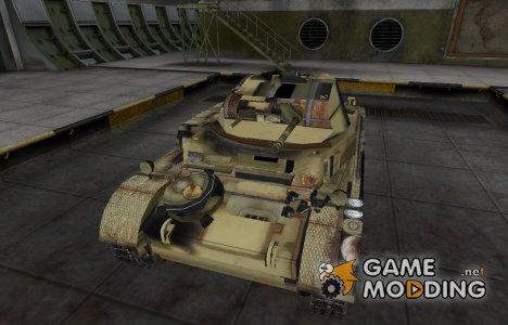 Исторический камуфляж PzKpfw II for World of Tanks