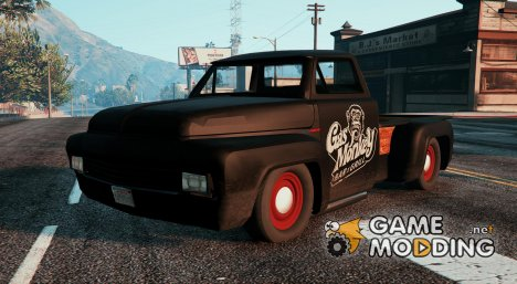 Gas Monkeys Hot Rod для GTA 5