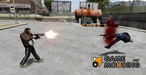 MP5 разрушитель for GTA 4