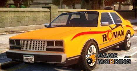 Roman Taxi для GTA 4