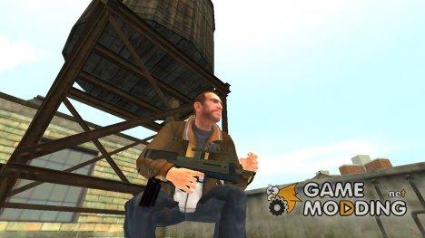 SMG из GTA 5 v.1 для GTA 4