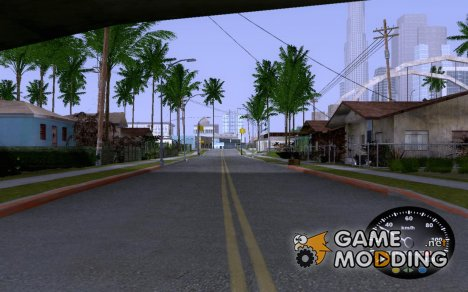 Спидометр от ГАЗ 52 для GTA San Andreas
