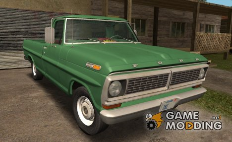 Ford F-100 1970 for GTA San Andreas