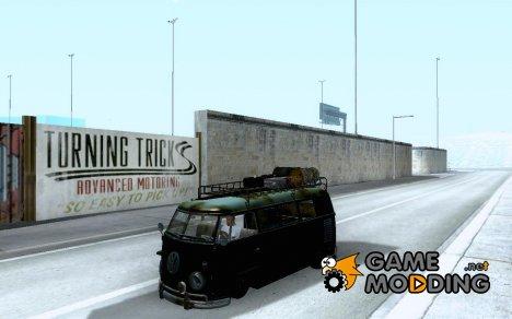 Volkswagen T1 Rat Bus для GTA San Andreas
