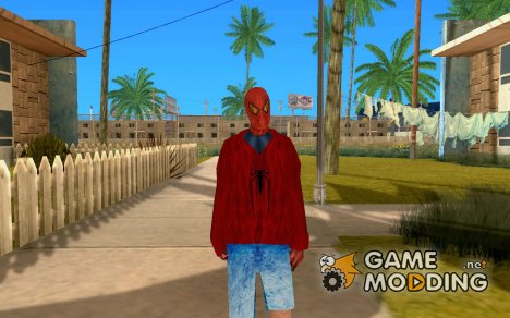 Poor Spider Man for GTA San Andreas