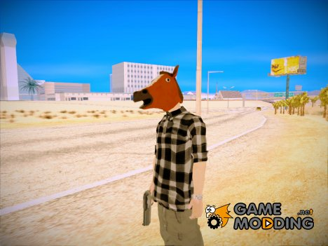 Horse mask ped for GTA San Andreas