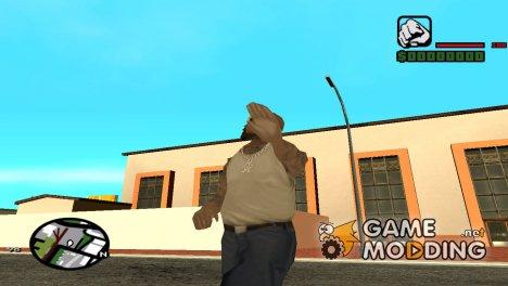 Смена походки персонажа для GTA San Andreas