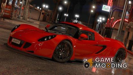 Hennessey Venom GT 2010 for GTA 5