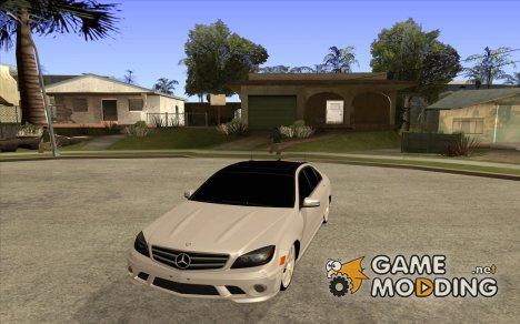 Mercedes-Benz С63 AMG for GTA San Andreas