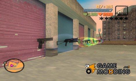 Набор русского оружия для GTA 3