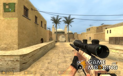 Camo Awp for Counter-Strike Source