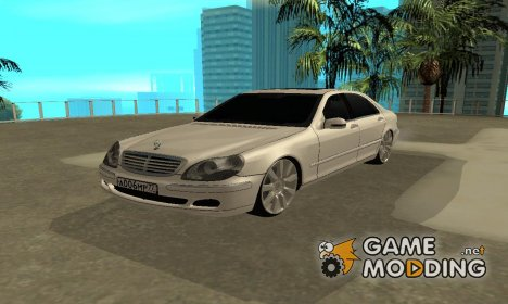 Mercedes-Benz S600 for GTA San Andreas