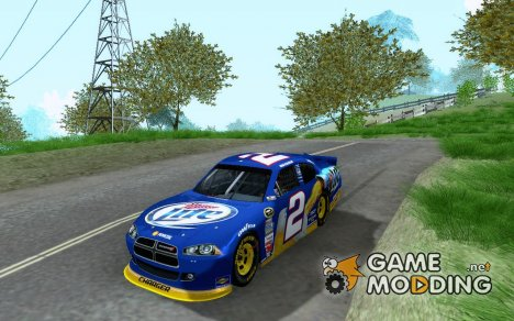 Dodge Charger Nascar 2012 for GTA San Andreas