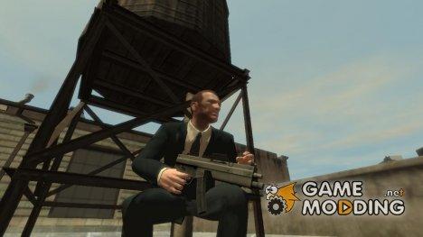 Обновлённый MP5 for GTA 4