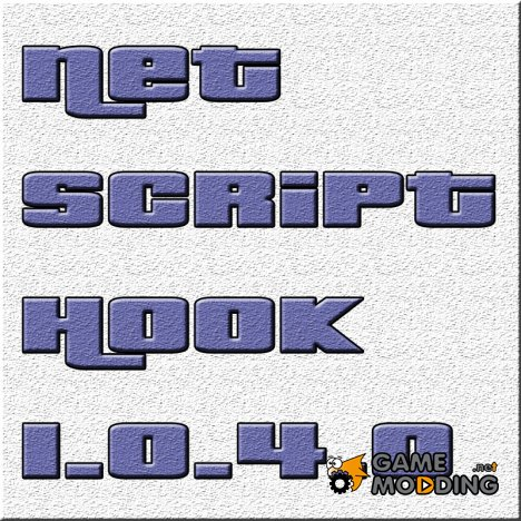 Net Script Hook 1.0.4.0 for GTA 4
