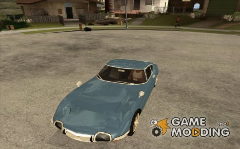 Toyota 2000GT для GTA San Andreas