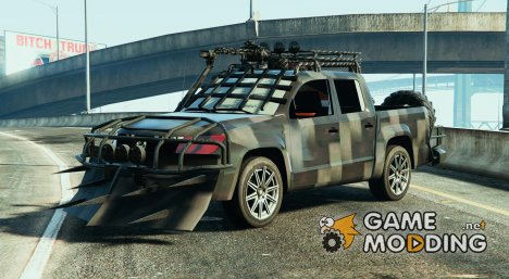 Volkswagen Amarok Apocalypse (Unlocked) for GTA 5