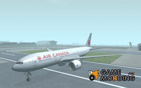 Boeing 777-200 Air Canada для GTA San Andreas