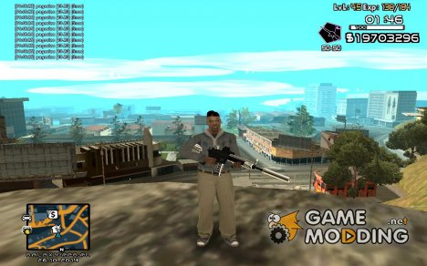 C-HUD by SampHack v.18 для GTA San Andreas