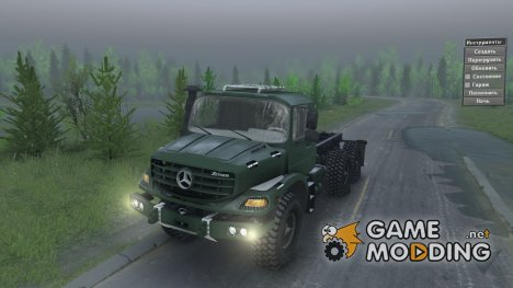 Mercedes-Benz Zetros for Spintires 2014