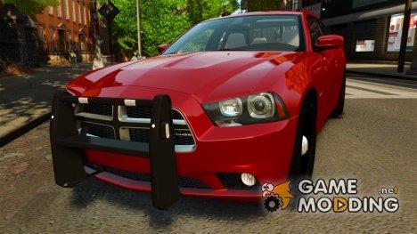 Dodge Charger R/T Max FBI 2011 [ELS] для GTA 4