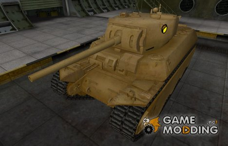 Мультяшный скин для M6 для World of Tanks