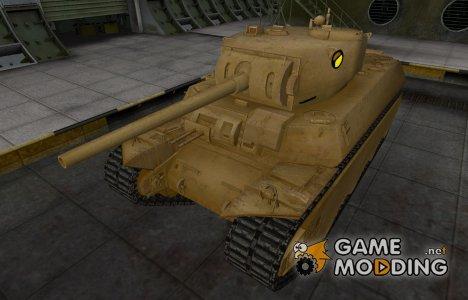 Мультяшный скин для M6 для World of Tanks