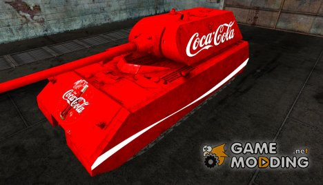 Шкурка для Maus Coca-Cola for World of Tanks