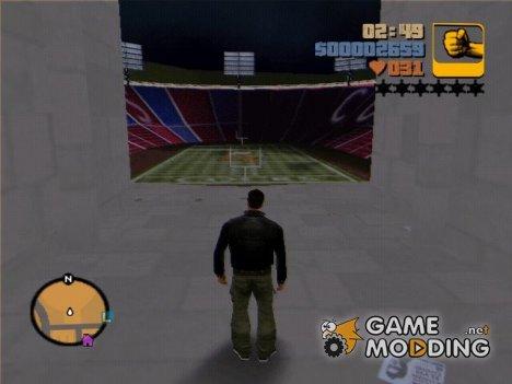 Улучшенный и открытый стадион для GTA 3