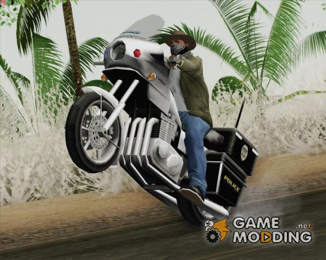Police Bike Metropolitan Police for GTA San Andreas