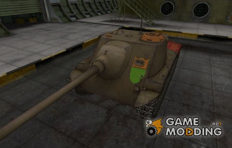 Зона пробития T25 AT for World of Tanks