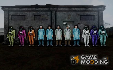 Учёные из S.T.A.L.K.E.R для GTA San Andreas