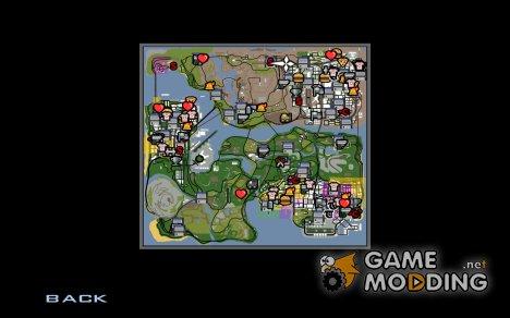 Карта из GTA SA Mobile for GTA San Andreas