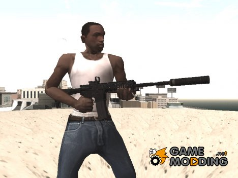 COD 4 MW Remastered M4A1 для GTA San Andreas