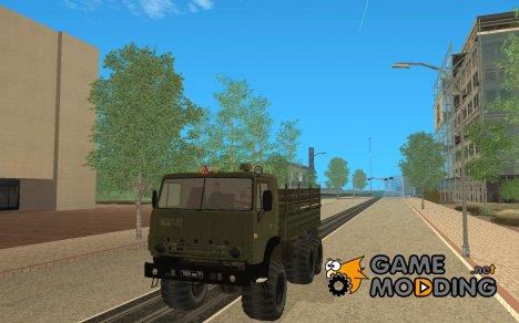 КамАЗ 4310 Армейский for GTA San Andreas